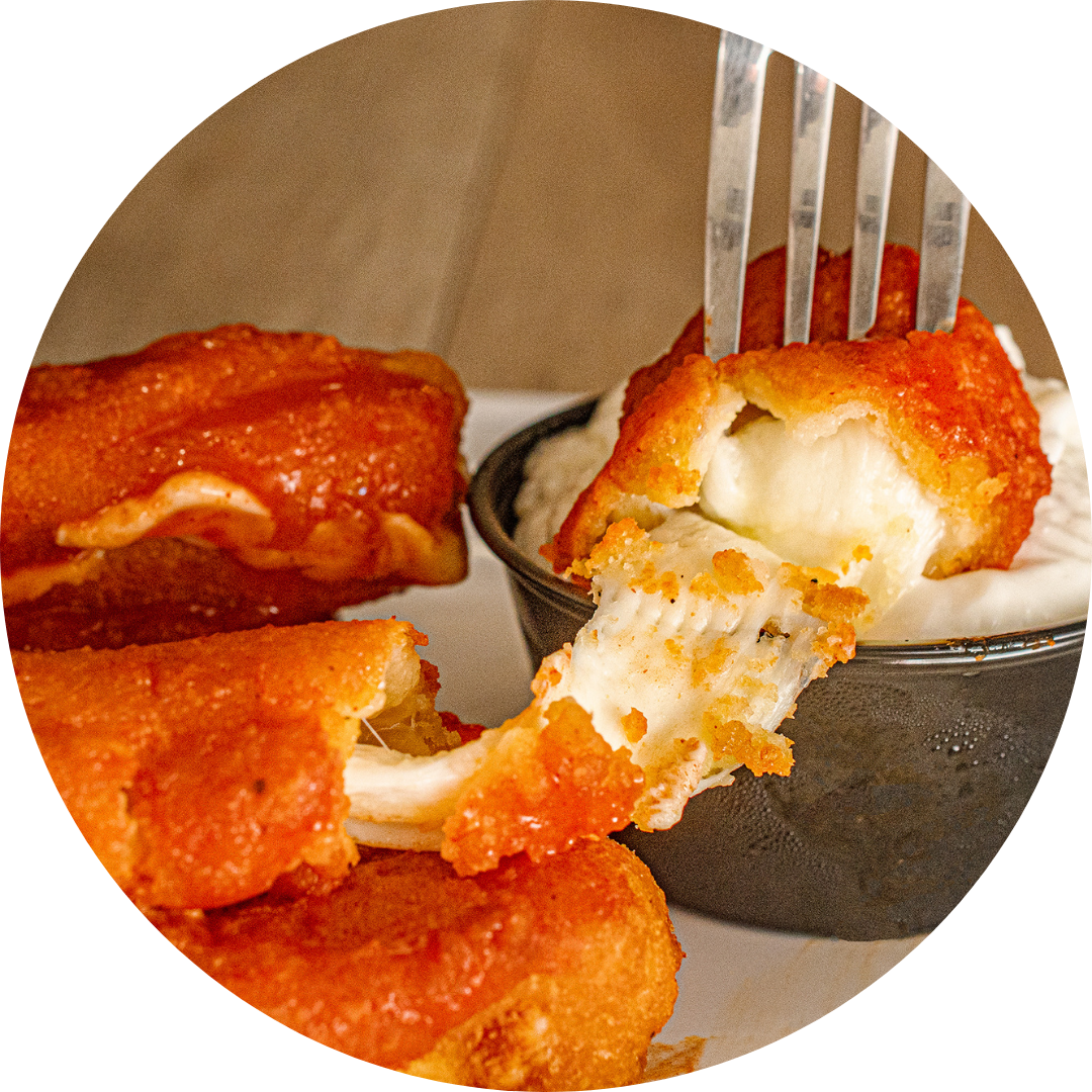 Buffalo Mozzarella Sticks (6)