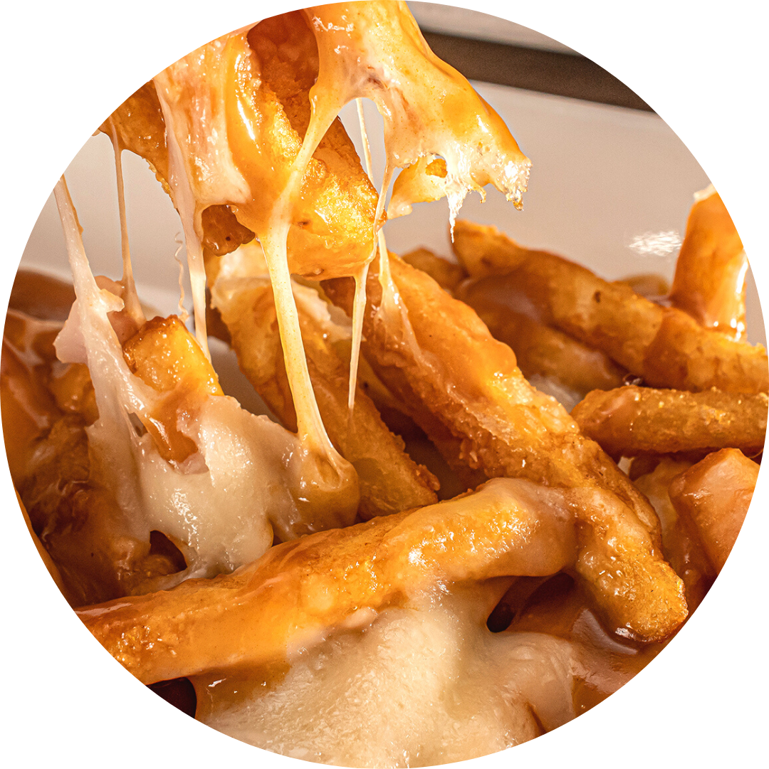 French Fries with Mozzarella & Gravy