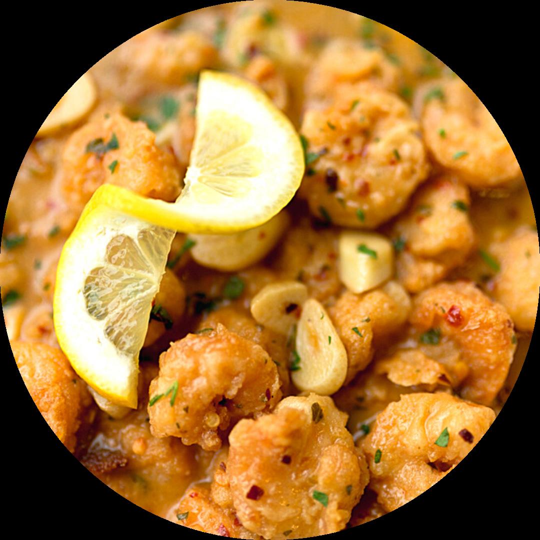 Shrimp Arrabbiata (Spicy)