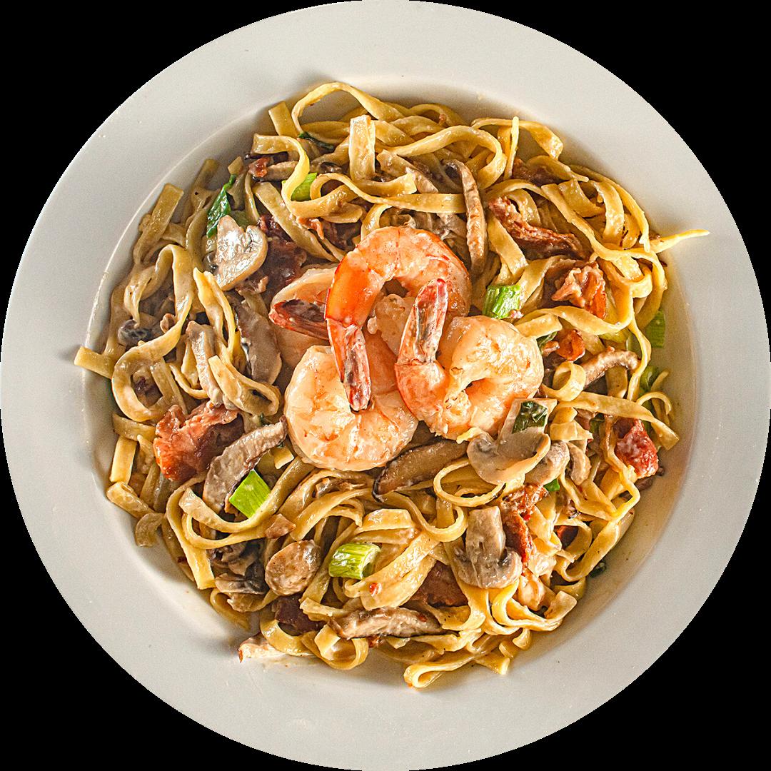Shrimp Fettuccine Calabrese